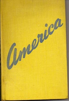 America by David Cushman Coyle 1941 Hardcover Book