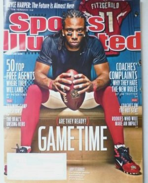 Sports Illustrated - Unread - August 1 2011 - 50 top free agents, Larry Fitzgerald