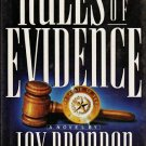 Rules of Evidence - Jay Brandon - 1st Edition 0671731742