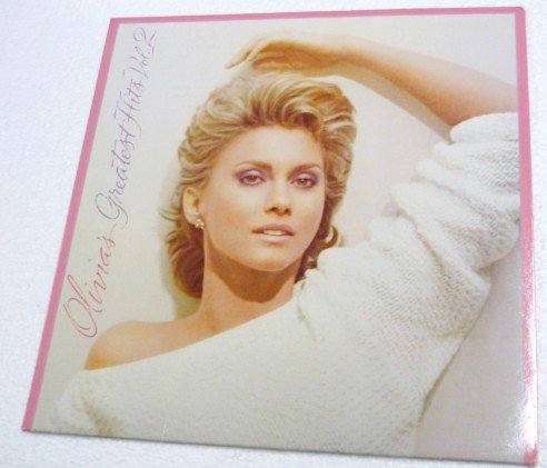 Olivias Greatest Hits Vol 2 lp - Olivia Newton-John Gatefold mca-5347
