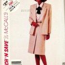 McCalls Uncut Pattern 4387 Jacket and Skirt Sizes 8-10-12