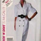 McCalls Uncut 1990 Pattern 4657 - DB Dress Sizes 10 12 14