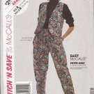 McCalls Uncut Pattern 4942 Misses Sizes 12 14 16 Vest and Pants