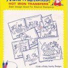 Aunt Marthas Hot Iron Transfers No 3548 Frisky Scotty Designs