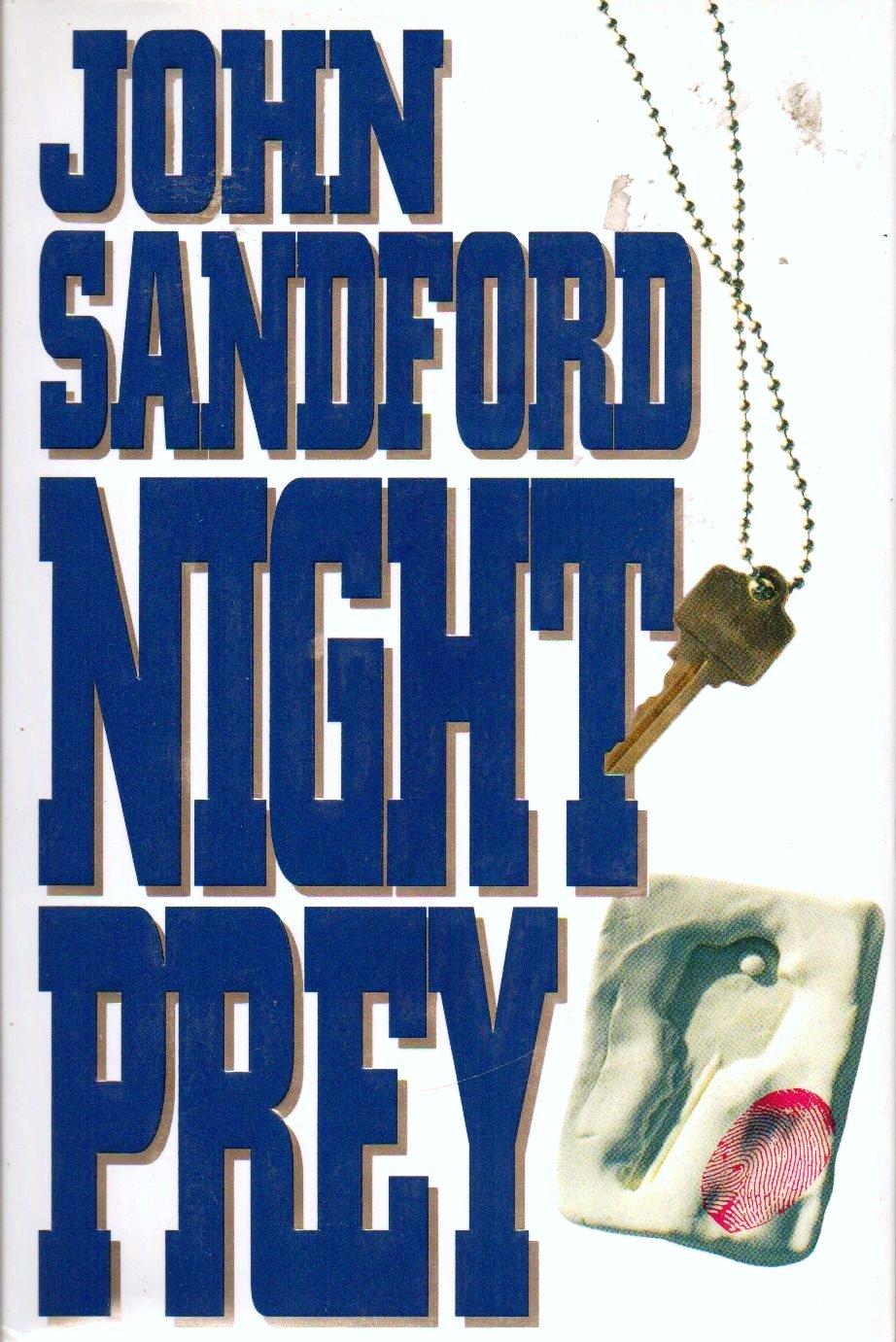 Night Prey by John Sandford Hardcover Book 0399139141