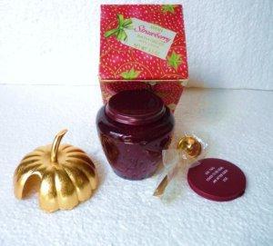 Avon Strawberry Bath Gelee Includes Ladle 4.5 oz. NIB Vintage