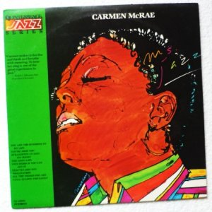 Carmen McRae Ms Jazz - Rare lp qj-25021