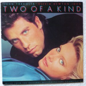 Two Of A Kind lp w John Travolta Olivia Newton John - Soundtrack mca6127
