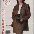 Uncut 5505 Pattern McCalls Misses Jacket and Skirt 12 14 16