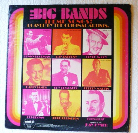 The Big Bands Theme Songs lp - Various Original Artists spc-3235