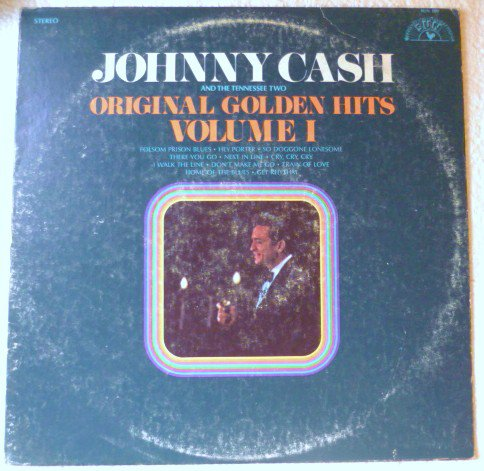 Johnny Cash and the Tennessee Two = Original Golden Hits Volume1 lp sun 100
