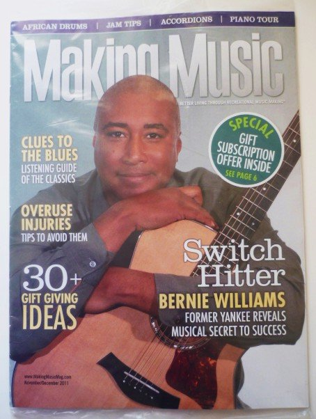 Making Music Mag - No Label - Unread November/December 2011