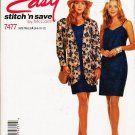 McCalls Uncut Pattern 7477 Misses Jacket and Dress Szs 6-12