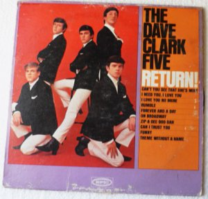 The Dave Clark Five Return lp - ln24104