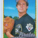 1989 Topps Brian Fisher No 423 Baseball Card Pirates Pitcher