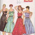 Butterick Pattern 6562/6563 Fitted - Flared Summer Dress Sizes 8-12