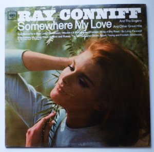 Somewhere My Love lp by Ray Conniff cl 2519