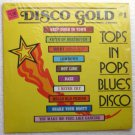 Disco Gold No 1 Tops in Pops Blues Disco lp - Various Artists us7807
