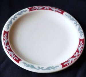 Syracuse China ~ Embassy Pattern 5.5 inch Side Dish Rare and Mint