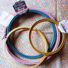 New: 4 Embroidery Framing Hoops New Berlin Westex Plastic Wood