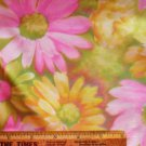 Large Floral Motif: 2 Two + Yards x 36 Fabric Material