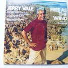 Free As the Wind  lp by Jerry Vale kc32829