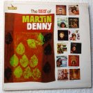 The Best of Martin Denny lp by The Martin Denny Group l5502 Liberty Records