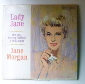Lady Jane - Best Beloved Ballads and Folk Songs lp - Jane Morgan kl1191