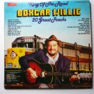 King of the Road lp by Boxcar Willie 20 Great Tracks smi 1-24 VGC