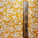 44 x 90 Fabric Material Cantaloupe Melon Flower Pattern 2.5 yards