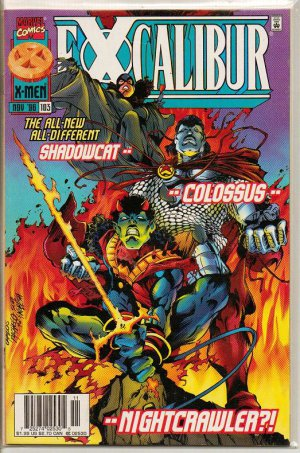 X-Men Excalibur Comic Book 103 Issue Marvel NM - Nov 1996