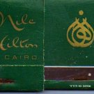 2 Nile Hilton Cairo Hotel Match Book Covers