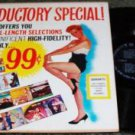 Tops Records Offers You 16 Full Length Selections lp 1950s