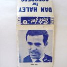 Dan Haley for Congress Matchbook Cover - Vintage