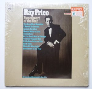 Sweetheart of the Year lp - Ray Price cs9822