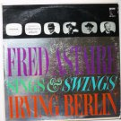 Fred Astaire Sings & Swings Irving Berlin lp pr-1