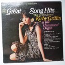 Great Song Hits That Griffin Sound lp by Kirby Griffin cs 9239