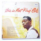 This Is Nat King Cole lp by Nat King Cole t870