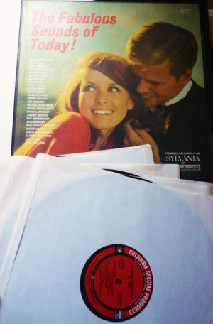 The Fabulous Sounds of Today: Boxed Set of 4 Record lp - Various Artists css5547