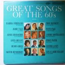 Great Songs of the 60s lp - Various Artists Columbia Special csp331