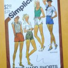 Simplicity Pattern 5511 Shorts Misses Size 6