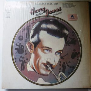 The Beat of the Big Bands lp - Harry James KH32018
