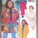 Butterick Pattern 3026 UNCUT Misses Coat and Jacket-Sz 8-10-12 Loose fitting lined