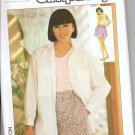 Simplicity Pattern 6880 Shorts, Big Top, Top Szs 6, 8, 10