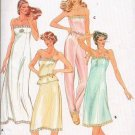 Butterick Pattern 3434 Slips and Camisole - Different Lengths Size 8