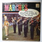 99 Men in Brass lp Play Marches of John Philip Sousa and Others dlp95