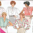 Uncut Butterick Pattern 3641 Szi 12-16 Misses Blouses