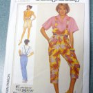 Simplicity Pattern 7388 Miss 6 8 10 Suspender Pants Shorts Capris