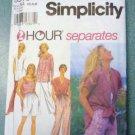 Simplicity Uncut Pattern 9518 Sizes XS S M Misses Separates