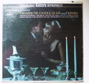 Jackie Gleason Presents Champagne Candlelight and Kisses lp sw1830